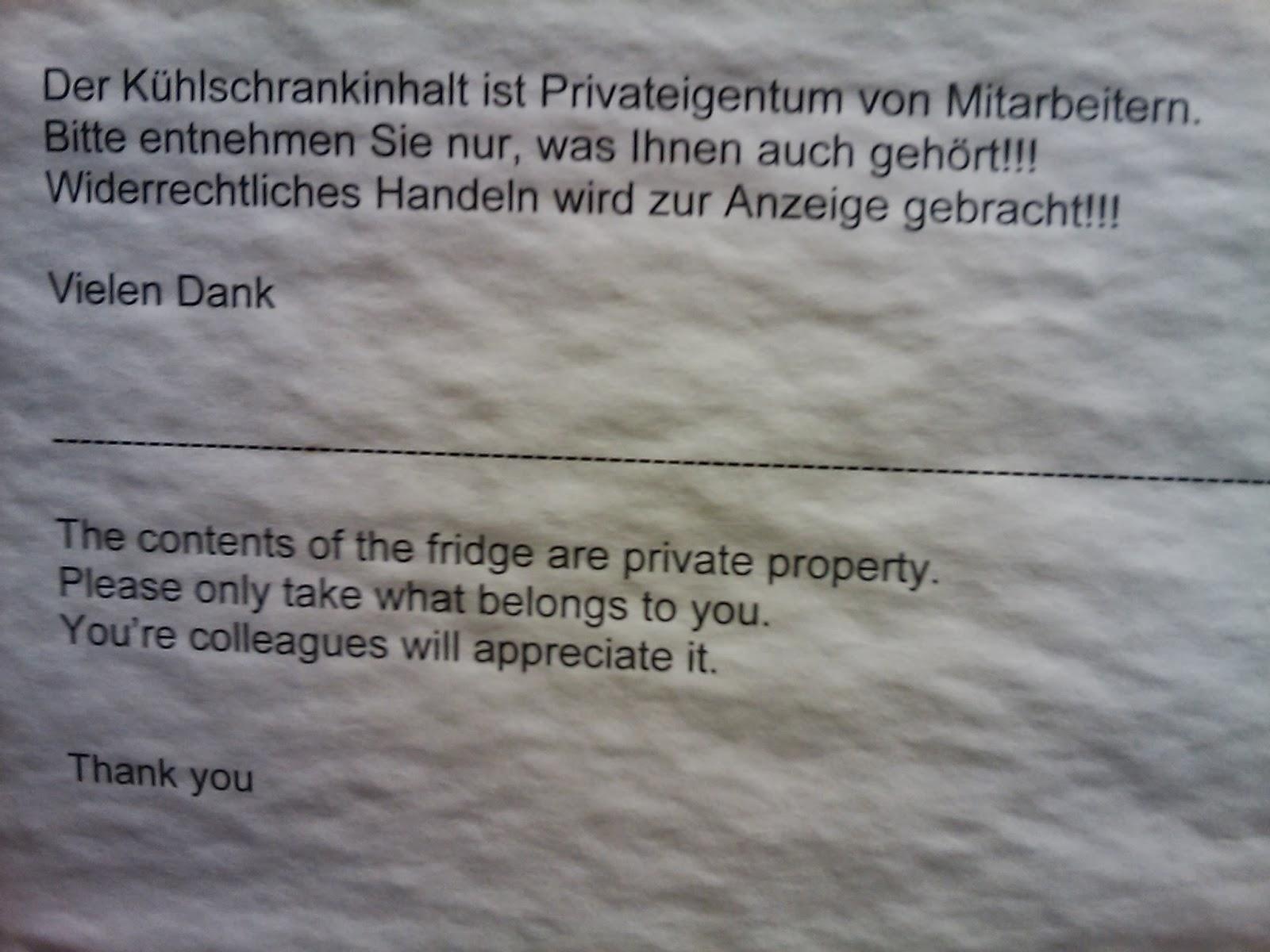 Publikumsbeschimpfung Deutsche Burokuchen