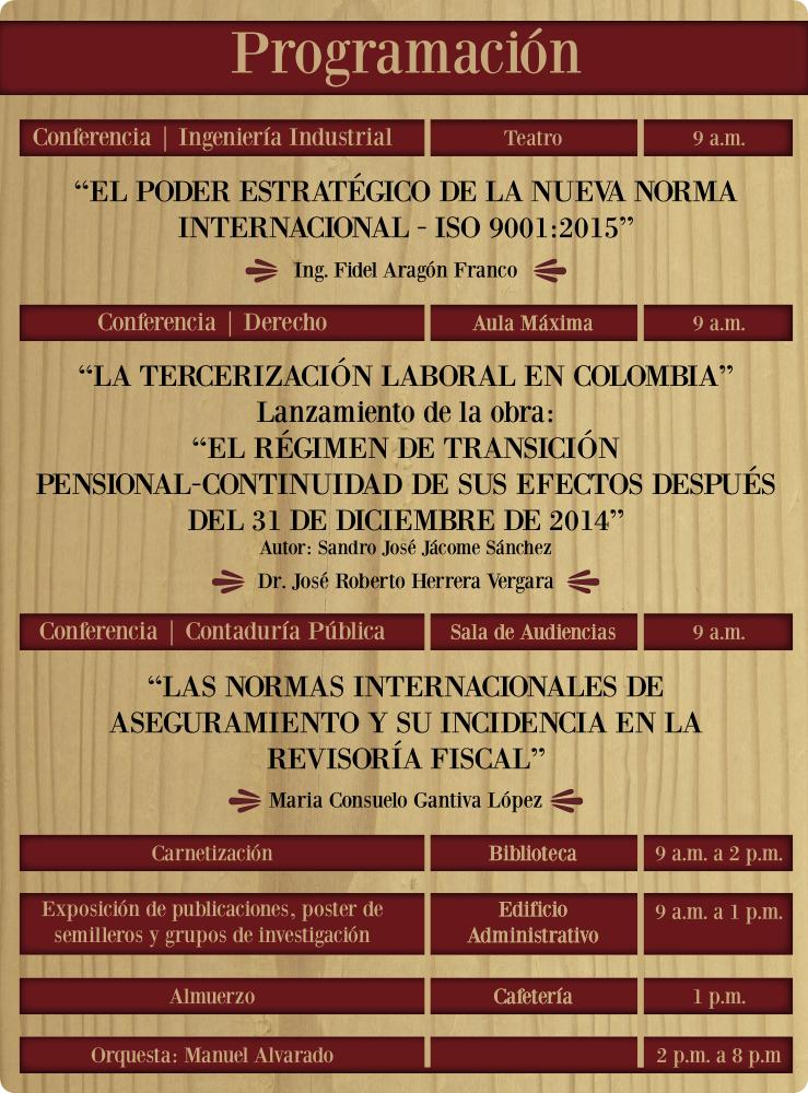 3er encuentro de Egresados 2015 en Unilibre Cúcuta « #FélixContrerasTelevisión ☼ #CucutaNOTICIAS