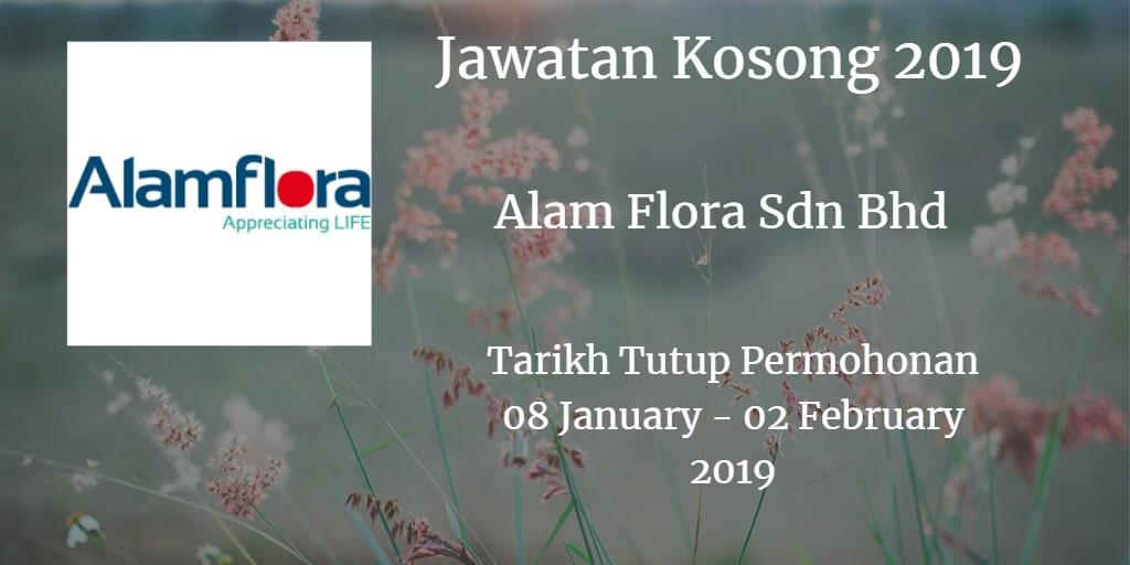 Jawatan Kosong Alam Flora Sdn. Bhd  8 January - 02 February 2019