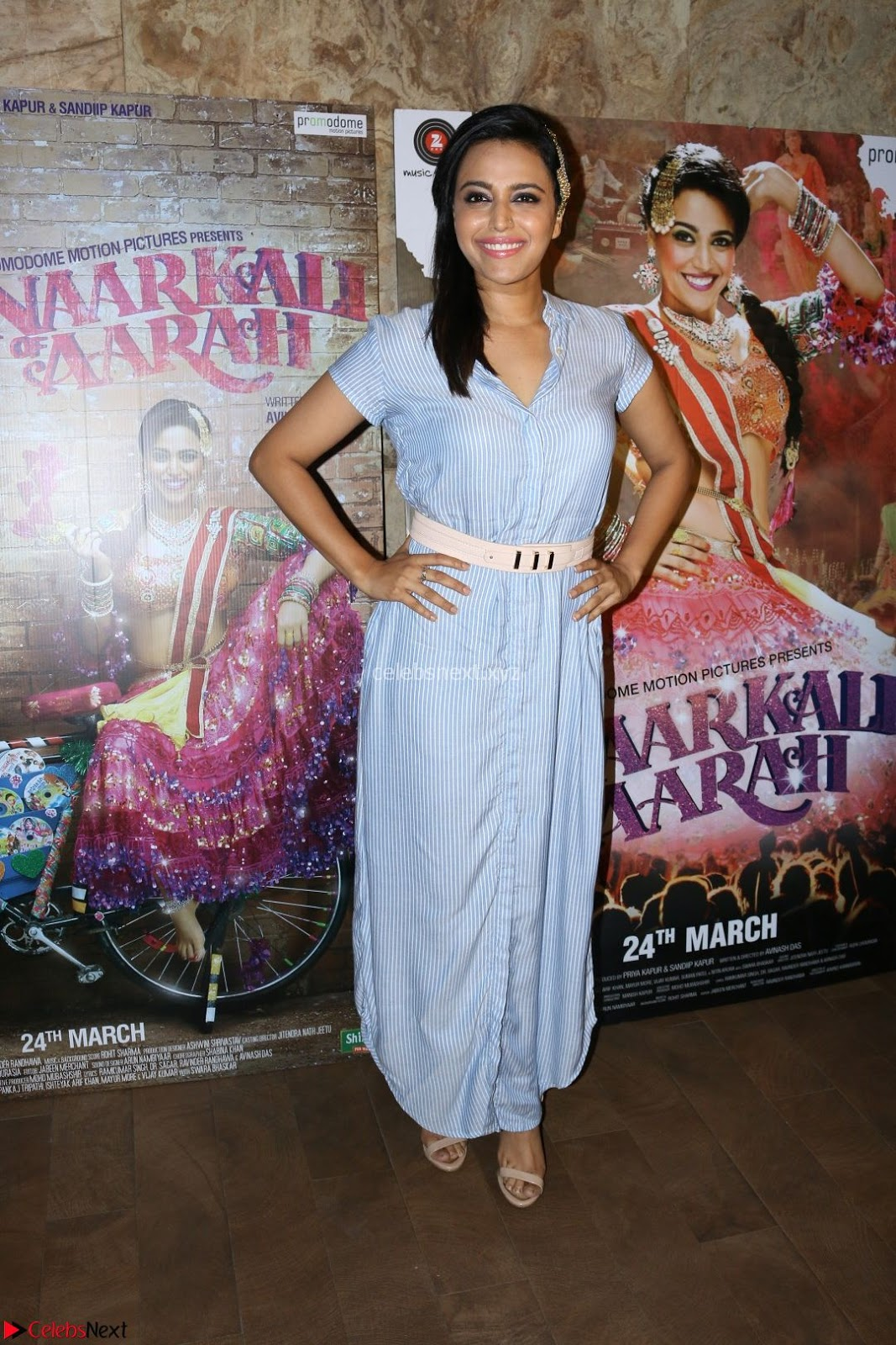 Swara Bhaskar with Star cast of Anarkali Of Arrah at Special Screening Of Anarkali Of Arrah 23rd March 2017