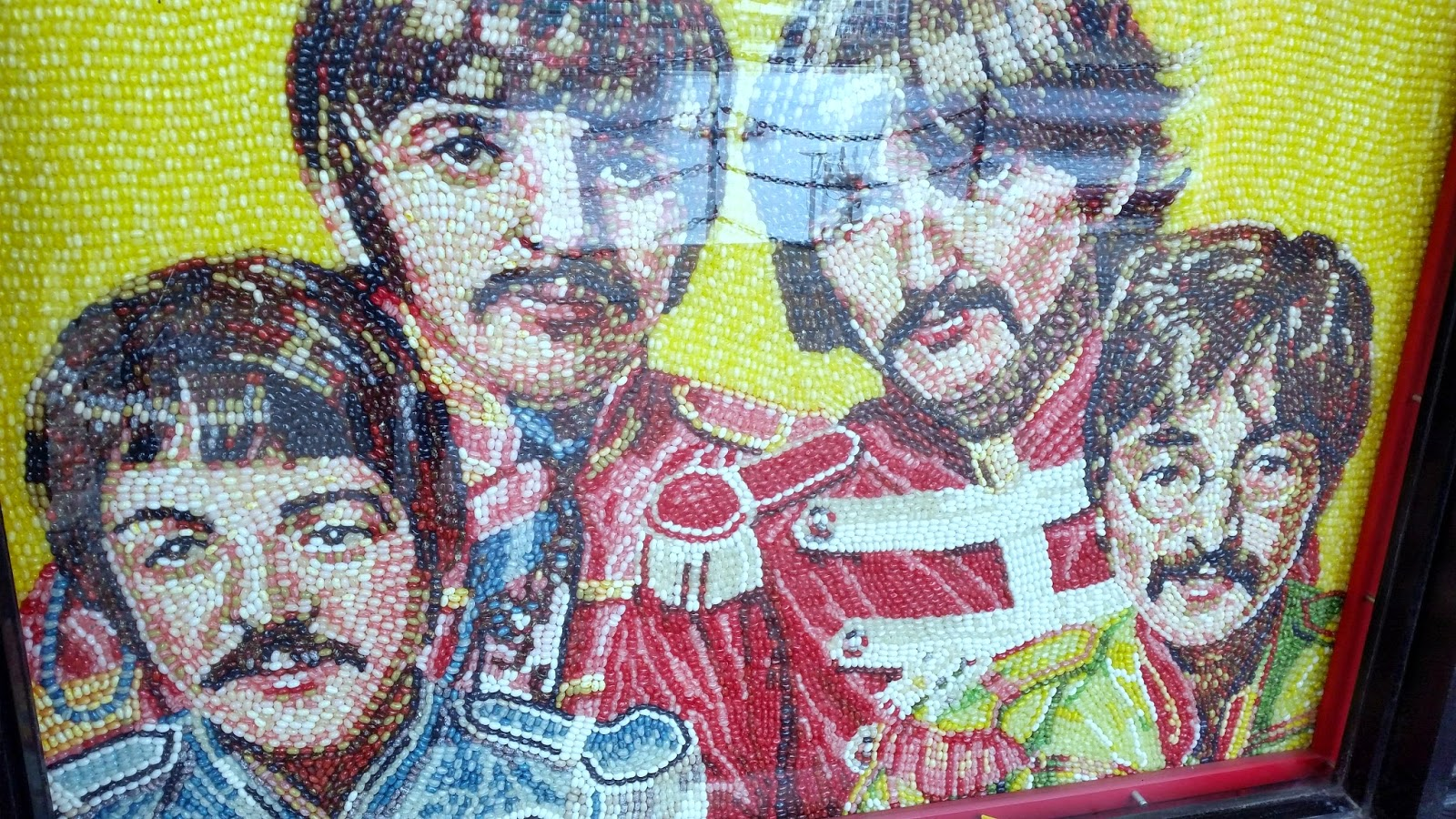THE BEATLES MADE FROM JELLY BEANS