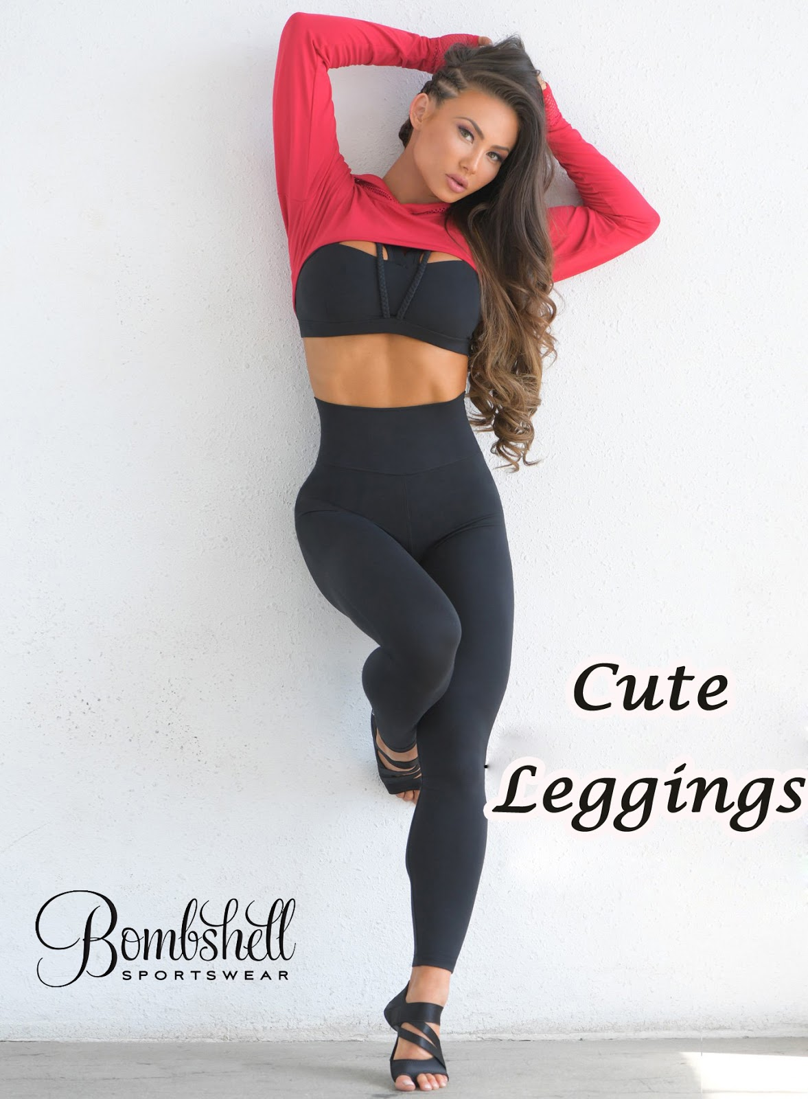 4f24b0bbf3 Look cute and fashionable with the Cute Leggings designed by Bombshell  Sportswear. These leggings are the perfect combination of fashion and  fitness.