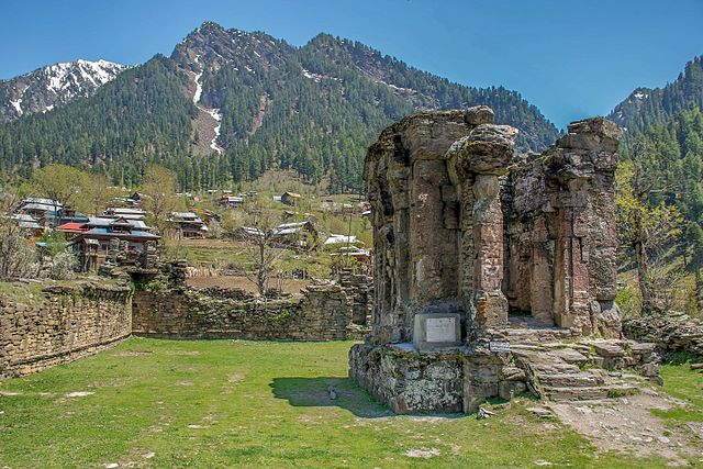 kashmir pakistan sharda peeth hindu temple