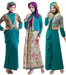 Model Baju Muslim Lebaran 2015 Modis