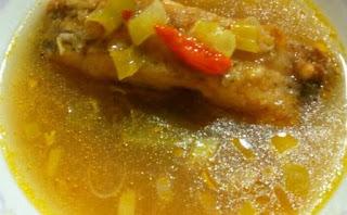 Resep Sup Ikan Gurami