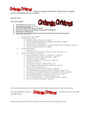 Elizabeth Chapin-Pinotti Cinderella Christmas