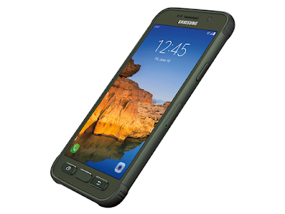 "Samsung Galaxy S7 active Specifications - LAUNCH Announced 2016, June DISPLAY Type Super AMOLED capacitive touchscreen, 16M color Size 5.1 inches (~64.3% screen-to-body ratio) Resolution 1440 x 2560 pixels (~576 ppi pixel density) Multitouch Yes Protection Corning Gorilla Glass 4  - Always-on display - TouchWiz UI BODY Dimensions 148.8 x 74.9 x 9.9 mm (5.86 x 2.95 x 0.39 in) Weight 184.8 g (6.53 oz) SIM Nano-SIM  - Samsung Pay (Visa, MasterCard certified) - IP68 certified - dust proof and water resistant over 1.5 meter and 30 minutes - MIL-STD-810G certified - salt, dust, humidity, rain, vibration, solar radiation, transport and thermal shock resistant PLATFORM OS Android OS, v6.0 (Marshmallow) CPU Dual-core 2.15 GHz Kryo & dual-core 1.6 GHz Kryo Chipset Qualcomm MSM8996 Snapdragon 820 GPU Adreno 530 MEMORY Card slot microSD, up to 256 GB (dedicated slot) Internal 32 GB, 4 GB RAM CAMERA Primary 12 MP, f/1.7, 26mm, phase detection autofocus, OIS, LED flash Secondary 5 MP, f/1.7, 22mm, dual video call, Auto HDR Features 1/2.5"" sensor size, 1.4 µm pixel size, geo-tagging, simultaneous 4K video and 9MP image recording, touch focus, face/smile detection, Auto HDR, panorama Video 2160p@30fps, 1080p@60fps, 720p@240fps, Auto HDR, dual-video rec NETWORK Technology GSM / HSPA / LTE 2G bands GSM 850 / 900 / 1800 / 1900 3G bands HSDPA 850 / 1900 / 2100 4G bands LTE band 1(2100), 2(1900), 3(1800), 4(1700/2100), 5(850), 7(2600), 8(900), 12(700), 20(800), 29(700), 30(2300), 38(2600), 39(1900), 40(2300), 41(2500) Speed HSPA 42.2/5.76 Mbps, LTE Cat9 450/50 Mbps GPRS Yes EDGE Yes COMMS WLAN Wi-Fi 802.11 a/b/g/n/ac, dual-band, Wi-Fi Direct, hotspot NFC Yes GPS Yes, with A-GPS, GLONASS USB microUSB v2.0, USB Host Radio Stereo FM radio, RDS Bluetooth v4.2, A2DP, LE, aptX FEATURES Sensors Fingerprint, accelerometer, gyro, proximity, compass, barometer, heart rate, SpO2 Messaging SMS(threaded view), MMS, Email, Push Mail, IM Browser HTML5 Java No SOUND Alert types Vibration; MP3, WAV ringtones Loudspeaker Yes 3.5mm jack Yes  - Active noise cancellation with dedicated mic BATTERY  Non-removable Li-Ion 4000 mAh battery Stand-by Up to 384 h (3G) Talk time Up to 32 h (3G) Music play Up to 110 h MISC Colors Camo Green, Titanium Gray, Sandy Gold  - Fast battery charging: 60% in 30 min (Quick Charge 2.0) - Qi/PMA wireless charging (market dependent) - ANT+ support - S-Voice natural language commands and dictation - OneDrive (115 GB cloud storage) - MP4/DivX/XviD/WMV/H.264 player - MP3/WAV/WMA/eAAC+/FLAC player - Photo/video editor - Document editor"