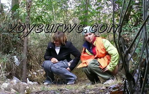 PissHunters 8946-8961 (Outdoor voyeur peeing. Voyeur public toilet spy cam)