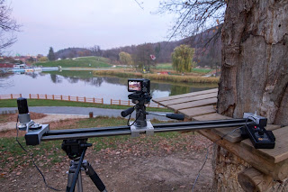 Camera Slider for Motorized Timelapse Shots
