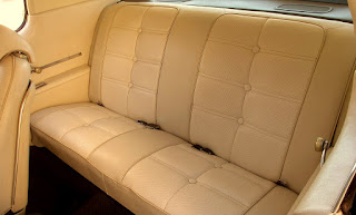 1972 Pontiac Grand Prix Model J Rear Seat