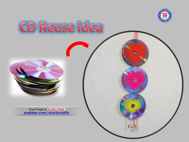 Here is best out of waste using waste cd,how to recycle waste cd,how to make cd crafts,cd wall decor ideas,art&craft using old cd and dvd,kids crafts using recycled cd,how to make home decoration using recycled cd's,cd penstand,cd candle holder,flower vase using recycled old cd,how to make cd wall decor