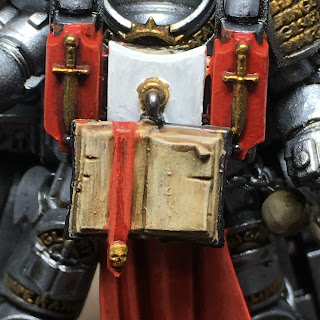 Grey Knight Grand Master in Nemesis Dreadknight chest restraint