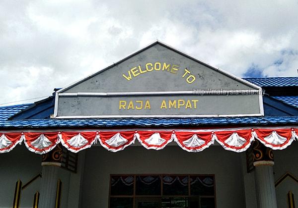 Airport Raja Ampat