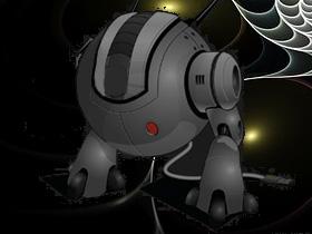 ロボット(素材使用)