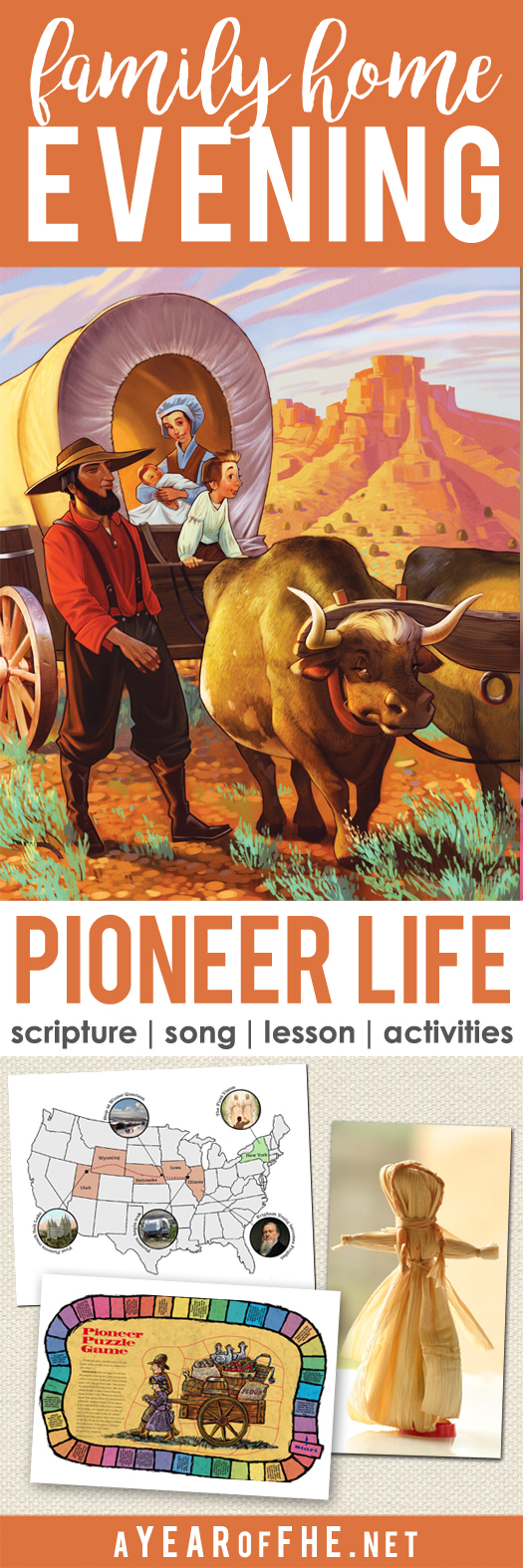 a year of fhe year 02 lesson 30 pioneer life