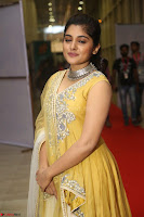 Nivetha Thamos in bright yellow dress at Ninnu Kori pre release function ~  Exclusive (40).JPG