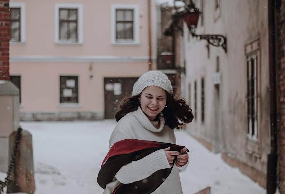 Zimowy uśmiech