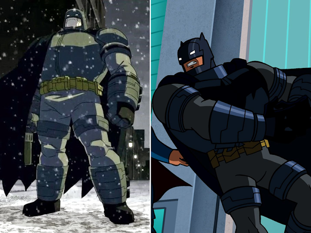 El Batman de The Dark Knight Returns ha tenido versiones animadas
