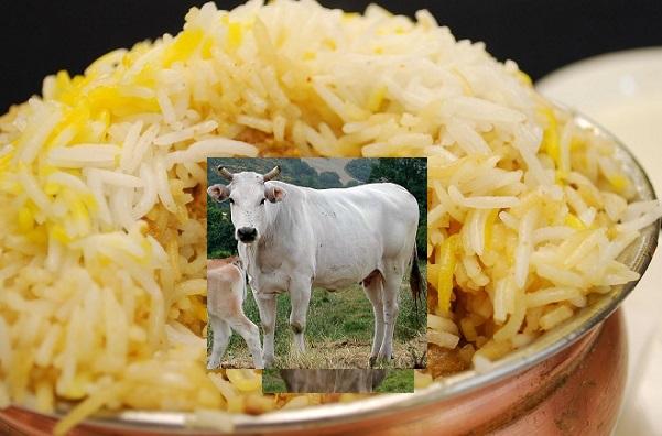 हरियाणा की बिरयानी में गोमांस की पुष्टि से सनसनी, सौ बार सोंचें तब खाएं बिरयानी