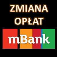 mBank - zmiana opłat za wypłatę z bankomatów