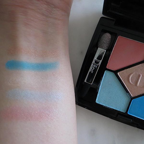Dior 5 Couleurs Polka Dots eyeshadow palette 366 'Bain de Mer'