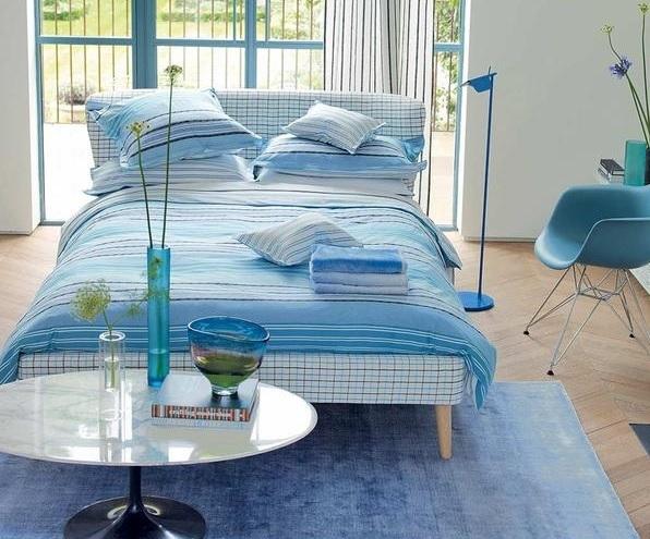 24 Fotos de quartos decorados azul e branco ~ Decoração e  ~ Quarto Branco E Azul