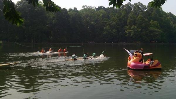 Perahu Danau Situ Gede Bogor