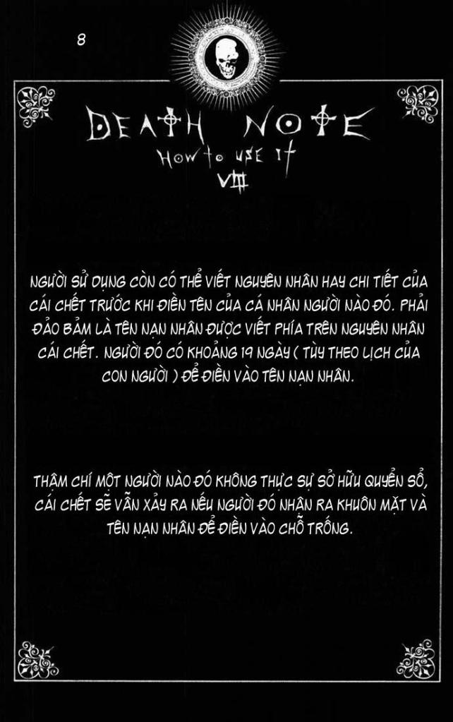 Death Note chapter 110 - how to use trang 11