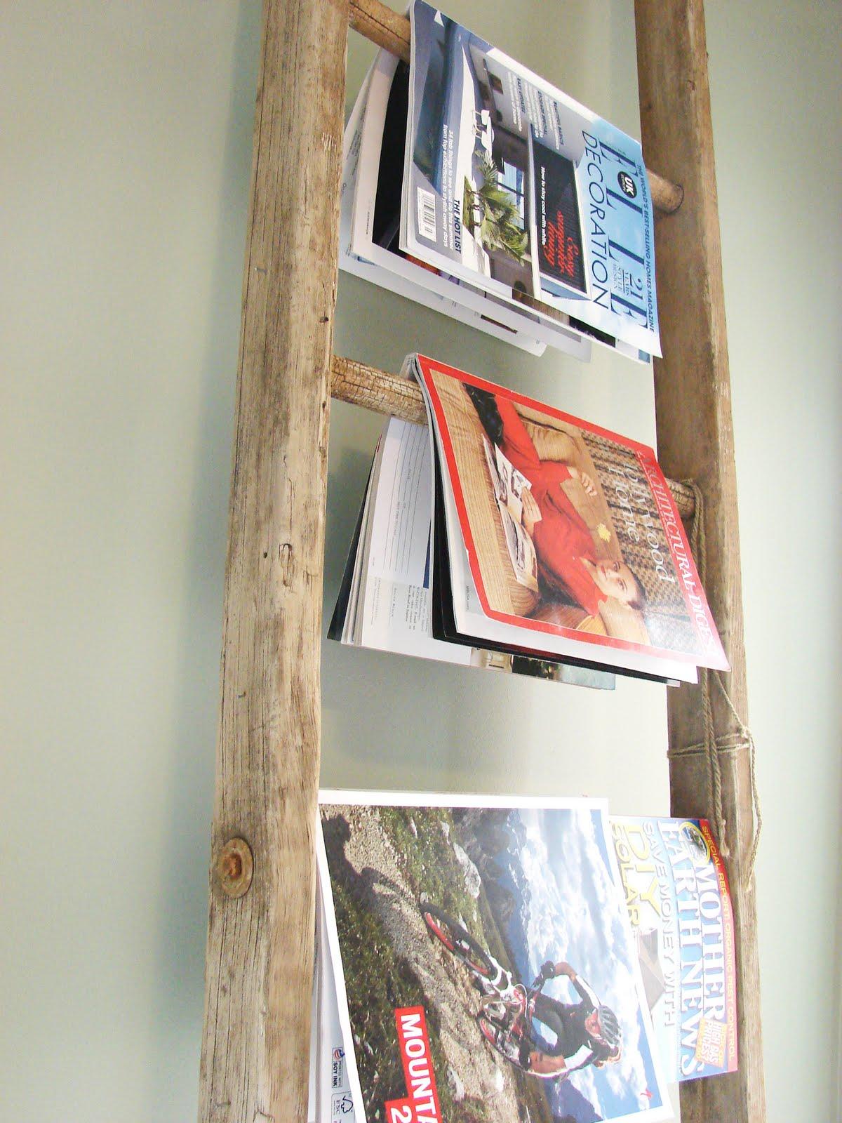 Posies & Plume: Handmade Home : UPCYCLE DIY : ladder ...