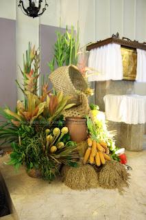 serafien - perangkai bunga liturgis: dekorasi paska