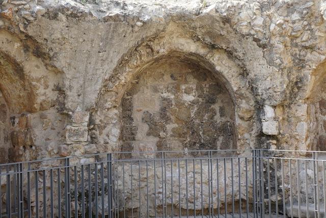 תל אפק - שרידי מבצר
