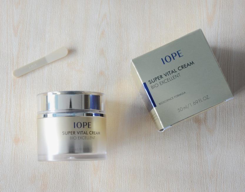Iope Super Vital Cream Bio Excellent: Review