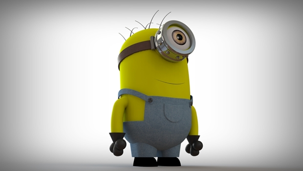 minion 3d en solidworks