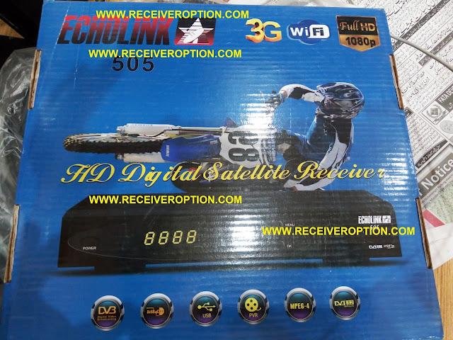 ECHOLINK 505 HD SIM RECEIVER ORIGINAL DUMP FILE