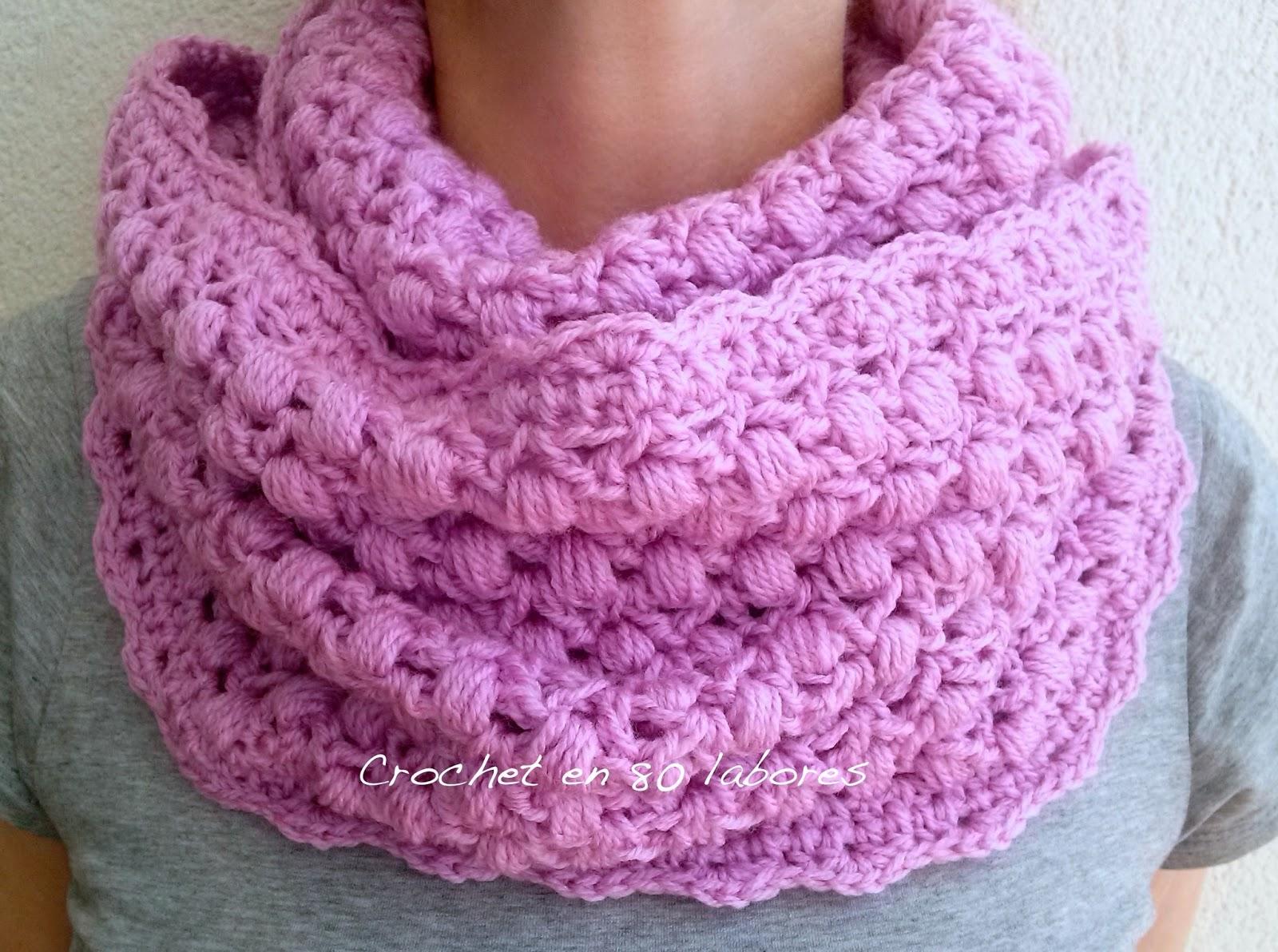 Excepcional Los Patrones De La Bufanda De Crochet Sencillos Para ...