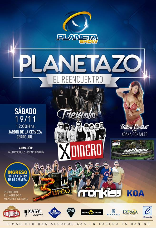 Planetazo, El Reencuentro 2016 - 19 de noviembre