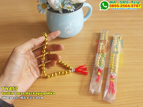 Tasbih Emas Packaging Mika