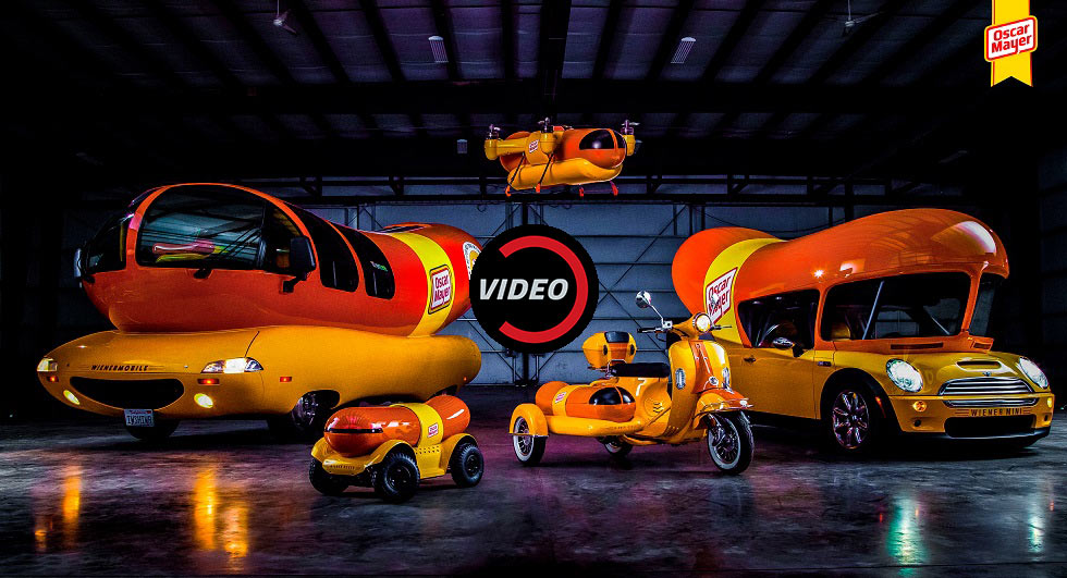 Oscar Mayer Introduces The New WienerCycle And WienerDrone