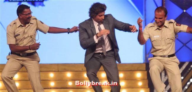 Hrithik Roshan, Bollywood Celebs at Umang Police Show 2014