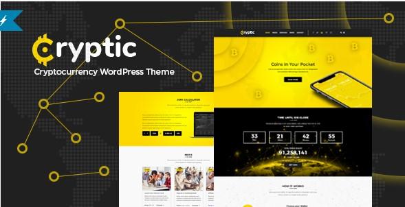 Cryptic WordPress Theme Free Download