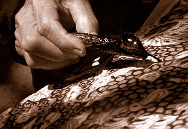 Motif batik tradisional Yogyakarta