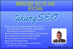 Workshop Tukang SEO