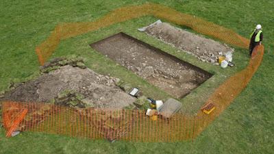 Ρωμαϊκή έπαυλη αποκάλυψαν εργασίες σε αχυρώνα