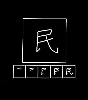 kanji warga