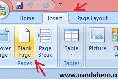 Menambah Halaman Baru di Microsoft Word Mudah Banget