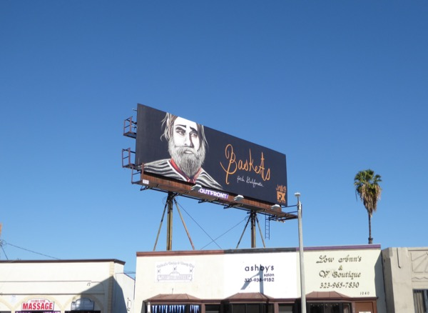 Baskets season 2 billboard