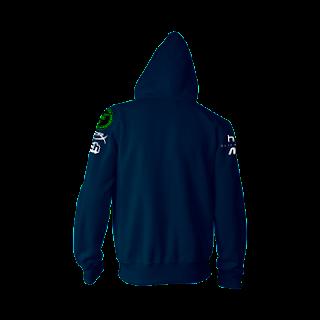 Jaket Jumper Hoodie Gaming Liquid Blue Logo 2017