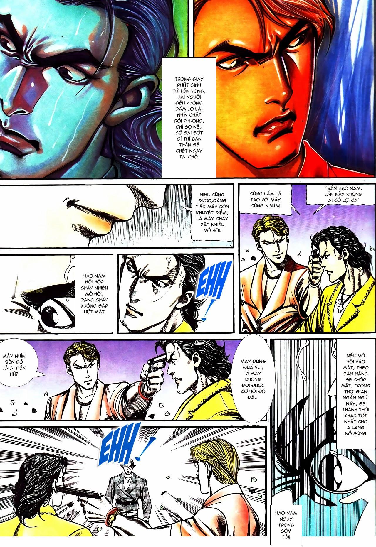 Người Trong Giang Hồ chapter 116: bình minh ló dạng ái tình tan vỡ trang 7