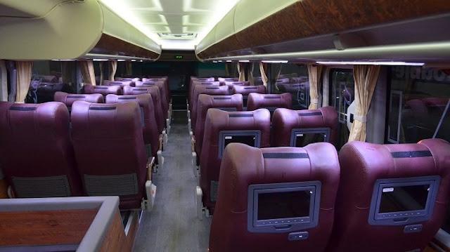 Inilah 4 Fasilitas Bus Bandung ke Semarang Buat Perjalanan Nyaman