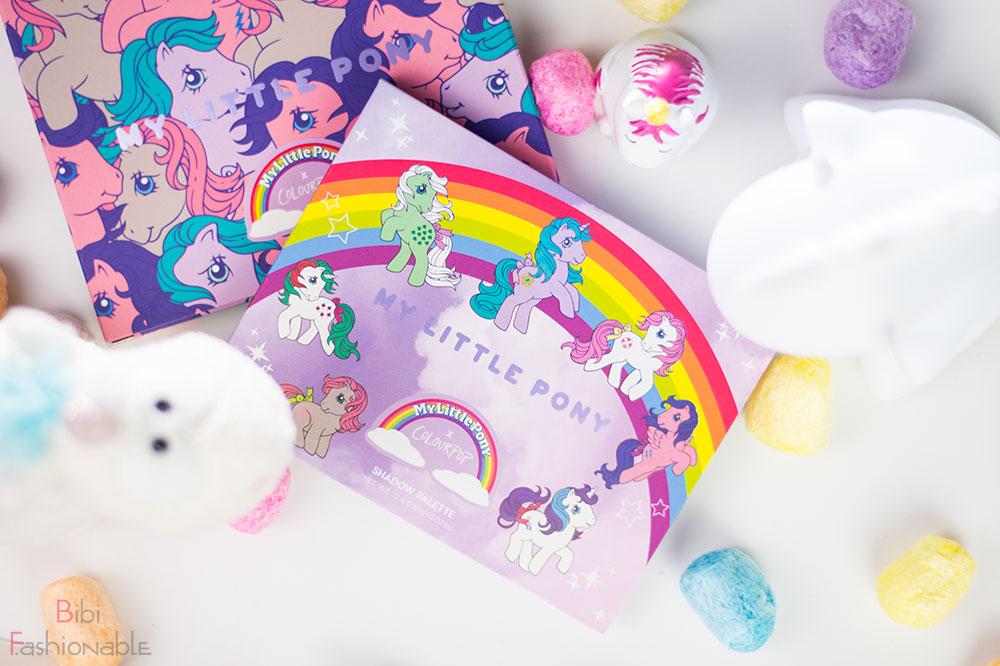 ColourPop My little Pony Pressed Powder Shadow Palette Flatlay